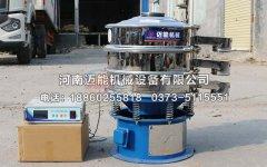 超声波振动筛在竹粉筛分除杂中的应用